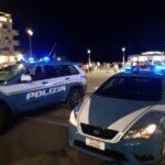 Polizia in piazzale della Libertà