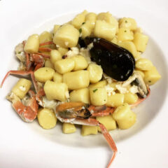 Primi piatti di pesce del ristorante Sailors Club di Senigallia