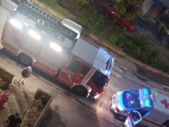 Vigili del Fuoco e 118 in via delle Mimose a Senigallia