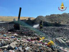 Corinaldo - Incendio discarica 1 (1)