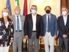 Gioacchino Minelli in visita a Senigallia