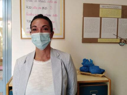 Assessore Cinzia Petetta in visita agli asili nido di Senigallia