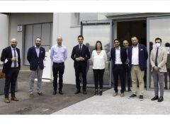 Il Presidente Acquaroli in visita alla nuova sede SO.DI.CO