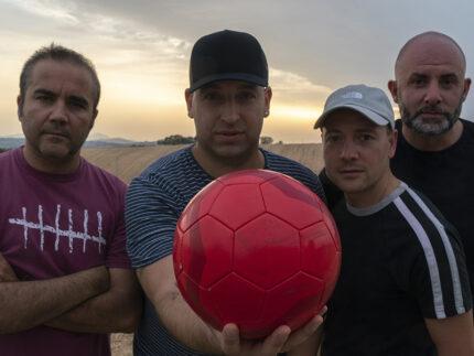 Confini di Tela (da sinistra Sergio Fabrizi, Matteo Tarabelli, Alessandro Violini, Marco Fersini) (1)
