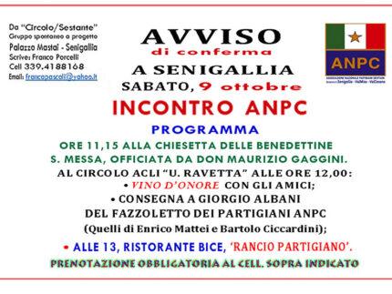 Consegna fazzoletto ANPC