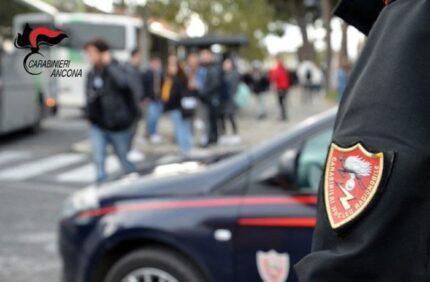 Carabinieri al campus scolastico