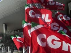 Cgil. sindacato, bandiere