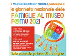 """""""La giornata nazionale delle famiglie al museo - F@Mu 2021"""""""