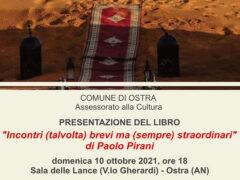 """Presentazione del volume """"Incontri (talvolta) brevi ma (sempre) straordinari"""" di Paolo Pirani"""