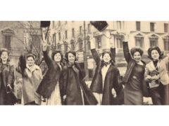 Donne, emancipazione, foto storica