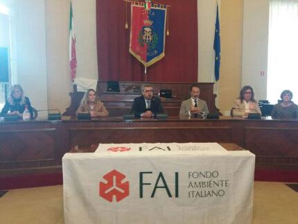 Presentate in Comune a Senigallia le giornate FAI d'Autunno