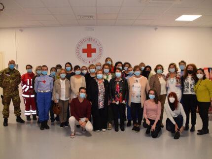 Senigallia, raduno nazionale delle Infermiere Volontarie della Croce Rossa Italiana