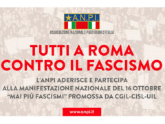 """Anpi Senigallia aderisce alla manifestazione """"Tutti a Roma contro il fascismo"""""""