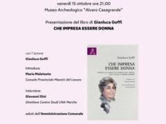 """Presentazione del libro di Gianluca Goffi """"Che impresa essere donna"""""""