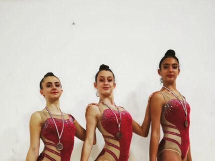 Chiara Ceccolini, Stella Cenerelli e Giulia Marochi - Polisportiva Senigallia