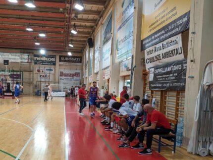 Gabrielli e la panchina Goldengas 2021-22