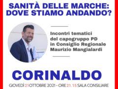 Maurizio Mangialardi a Corinaldo per parlare della sanità nelle Marche