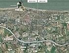 Il disegno della complanare a Senigallia