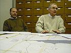 Gli ingegneri Roberto Coppola e Piero Bartera
