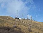 Antenne posizionate in collina