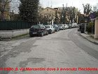 Via Mercantini, luogo dell'incidente