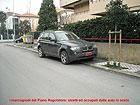 Via Trento, auto in sosta vietata