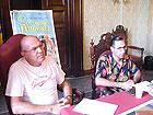 Andrea Celidoni e  Angelo DI Liberto dell'Associazione Summer Jamboree