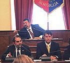 Consiglio Grande a  Senigallia: intervento di Mario Baldassarri