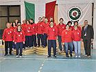 La squadra della compagnia di Senigallia Assta con l'Assessore allo sport Gennaro Campanile