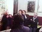 Enrico Dignani alla presentazione delle sue opere a Senigallia