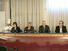Da sinistra: Silvano Pettinari, Simonetta Sagrati, Toni Guzzi, Goffredo Giovanelli, Stefano Schiavoni