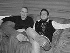 Mr. George Garzone (sax tenore) e Matteo Fraboni (batteria)