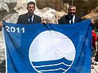 Mangialardi e Campanile reggono la Bandiera Blu 2011