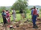 Con i contadini in Swaziland