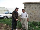 In un'azienda agricola in Kurdistan, Iraq