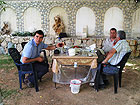 Con i contadini in Syria per il tè