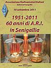 Locandina 60 anni della sezione senigalliese dell'ARI