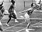 Livio Berruti alle olimpiadi di Roma 1960