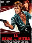"""La locandina del film """"La belva col mitra"""" girato a Senigallia nel 1977"""