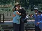 """Una scena del film """"La belva col mitra"""" girato a Senigallia nel 1977: ecco la stazione ferroviaria"""