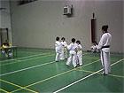 Esami di Taekwondo alla palestra del Perticari di Senigallia