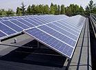 Impianto fotovoltaico a pannelli solari