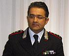 Roberto Cardinali, Comandante uscente della Compagnia Carabinieri di Senigallia