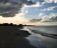 16/08/2020 - Tramonto e nuvole in riva