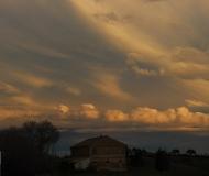 20/04/2021 - Tramonto tra le nuvole