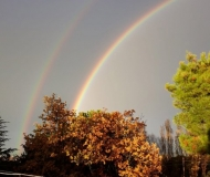 02/01/2021 - Due arcobaleni al Camposanto Vecchio
