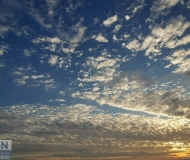 23/01/2021 - Cielo e nuvole