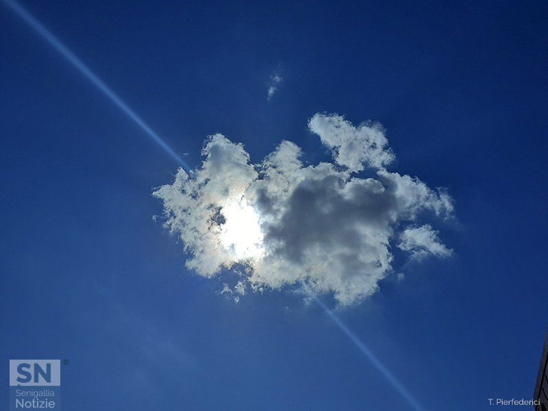 13/06/2020 - Nuvola sul parco