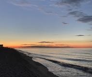 04/07/2020 - Lungomare di Marzocca poco dopo il tramonto
