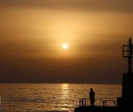 06/07/2021 - Il pescatore all'alba